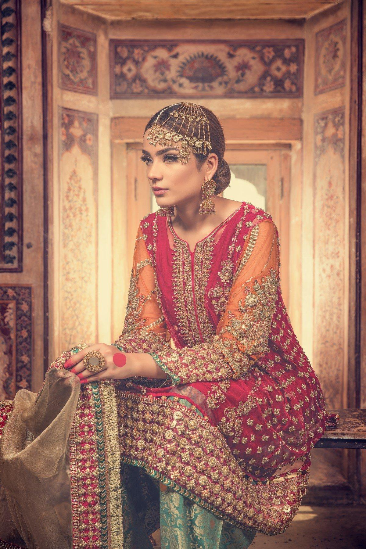 d813d730e2 Pakistani Bridal Dresses Maria B – DACC