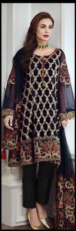 chiffon suits Pakistani, Pakistani chiffon collection, Pakistani chiffon collection 2018, designer chiffon collection, chiffon replica, chiffon Pakistani suits, chiffon collection Pakistan, chiffon suits in Pakistan, chiffon suits designs., asim jofa chiffon replica 2018, baroque chiffon chiffon replicas 2018 ,designer chiffon suits chiffon suit, Anaya Designer Chiffon Suits