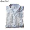 plain white kurta for man