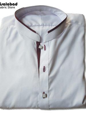 white cotton kurta design mens